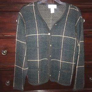 heavy knit vintage cardigan